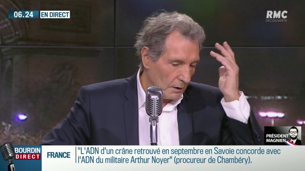La colère de Jean-Jacques Bourdin, contre Emmanuel Macron !