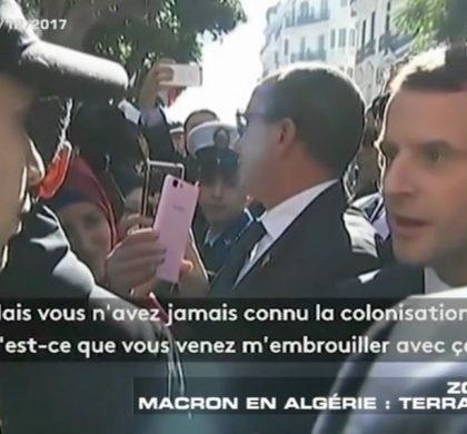 Emmanuel Macron rembarre un jeune homme !