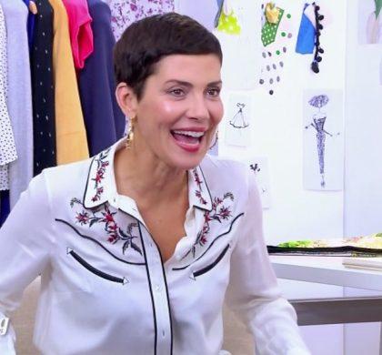 Cristina Cordula, horrifiée par le maquillage d'une candidate !