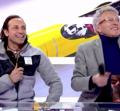 Philippe Candeloro galère en direct !