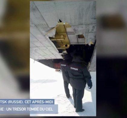 Des lingots tombent du ciel en Russie !